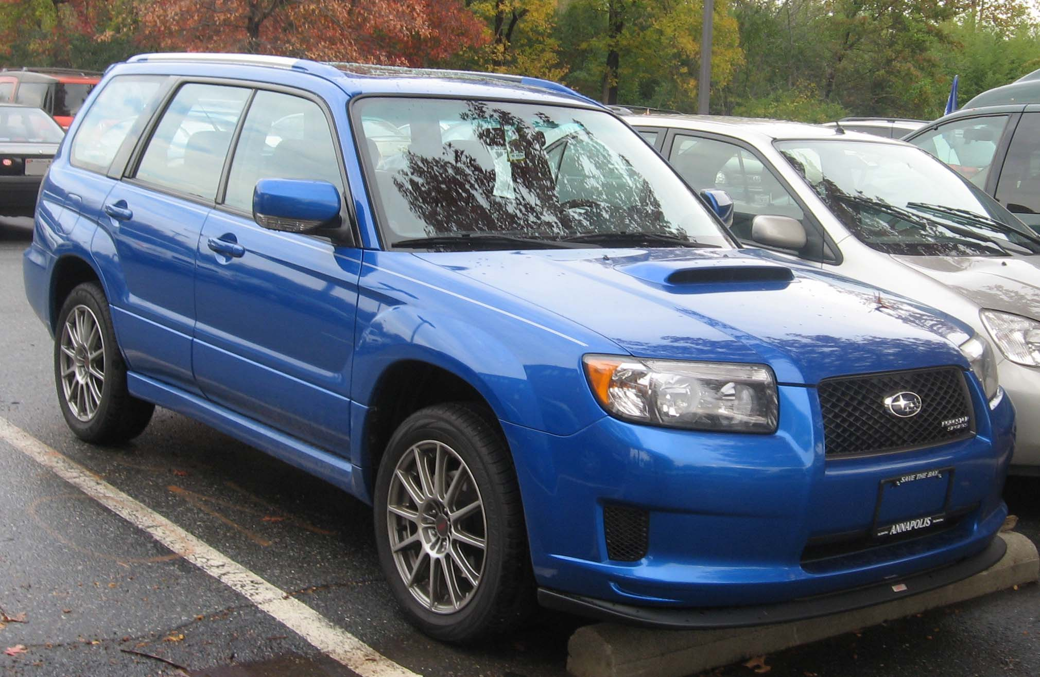 Subaru Forester Towing Capacity >> File:06-08 Subaru Forester 2.5XT Sports.jpg - Wikimedia Commons