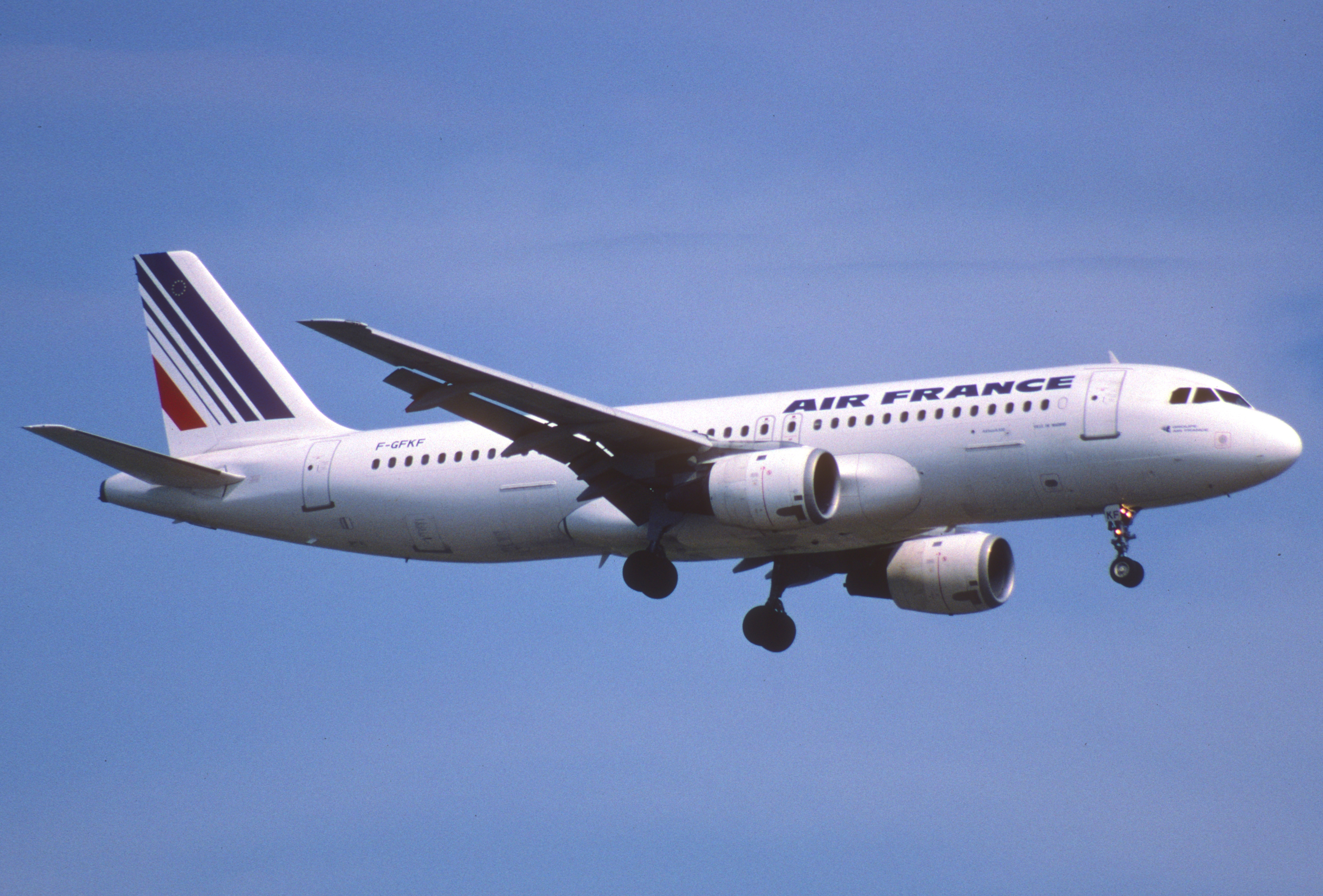 Alf img showing airbus a320 100 for Airbus a320 air france interieur
