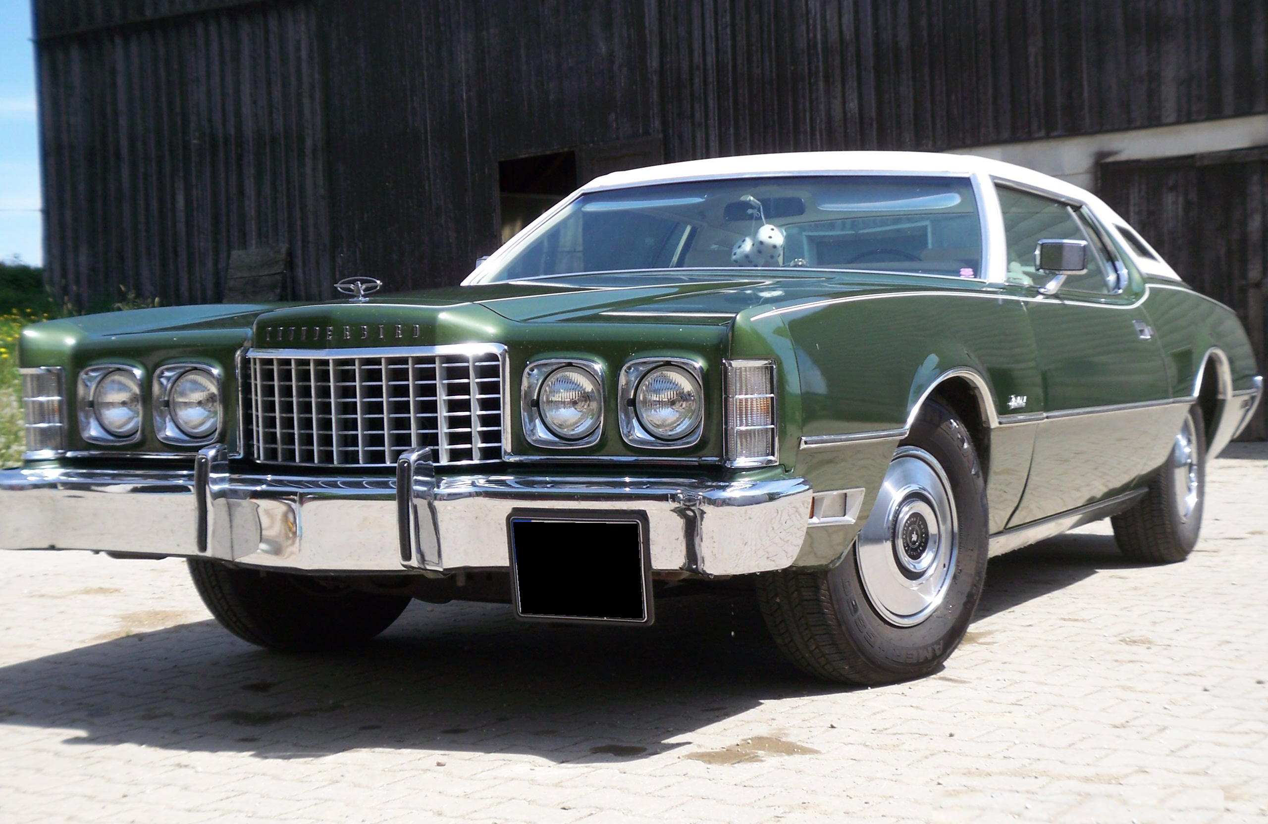 File:1973 Ford Thunderbird Front.JPG - Wikimedia Commons