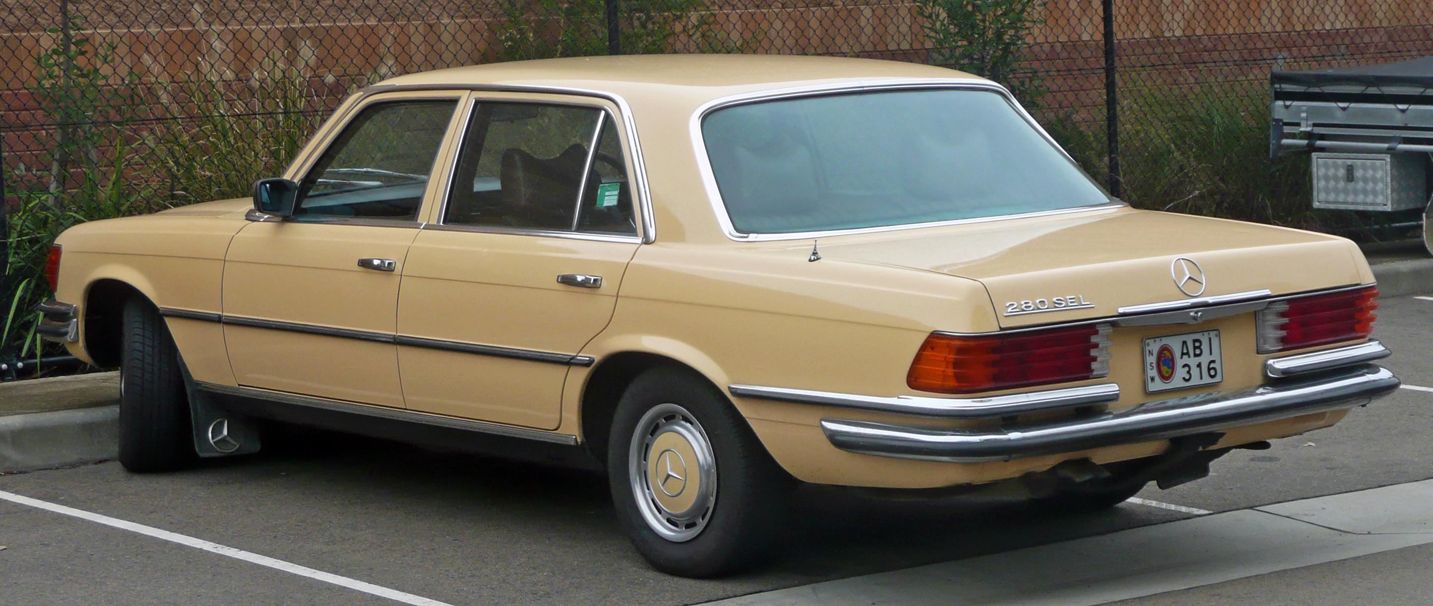 File:1980 Mercedes-Benz 280 SEL (V 116) sedan (2010-06-17 ...