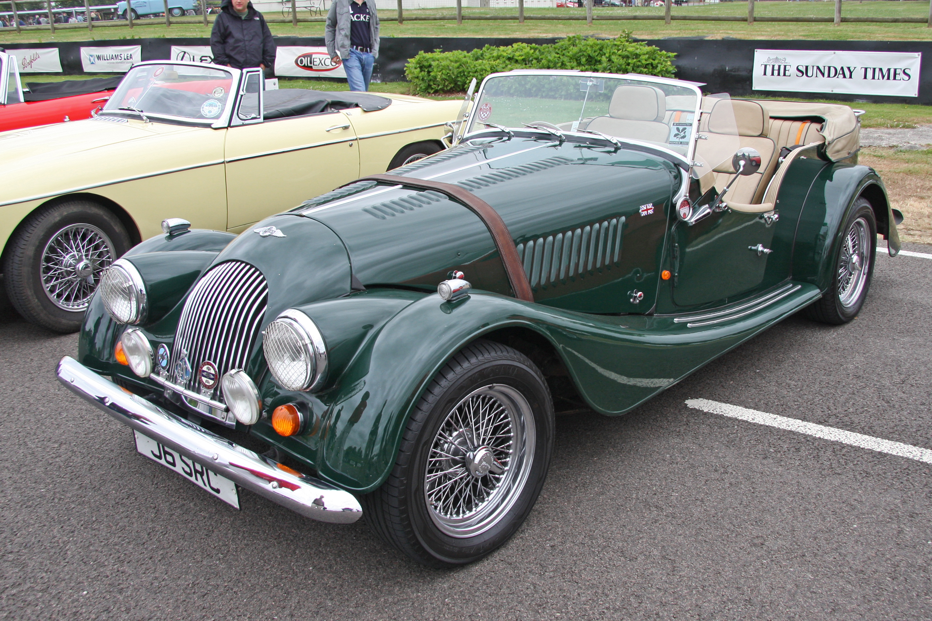File1993 Morgan Plus 4 Roadster  exfordyjpg  Wikimedia Commons
