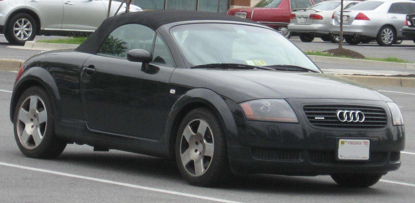 FilestAudiTTconvertiblejpg Wikimedia Commons - Audi tt convertible