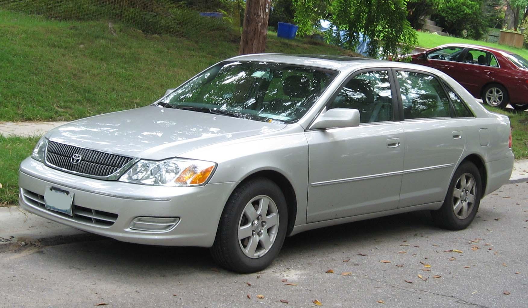 File20002002 Toyota Avalonjpg  Wikimedia Commons