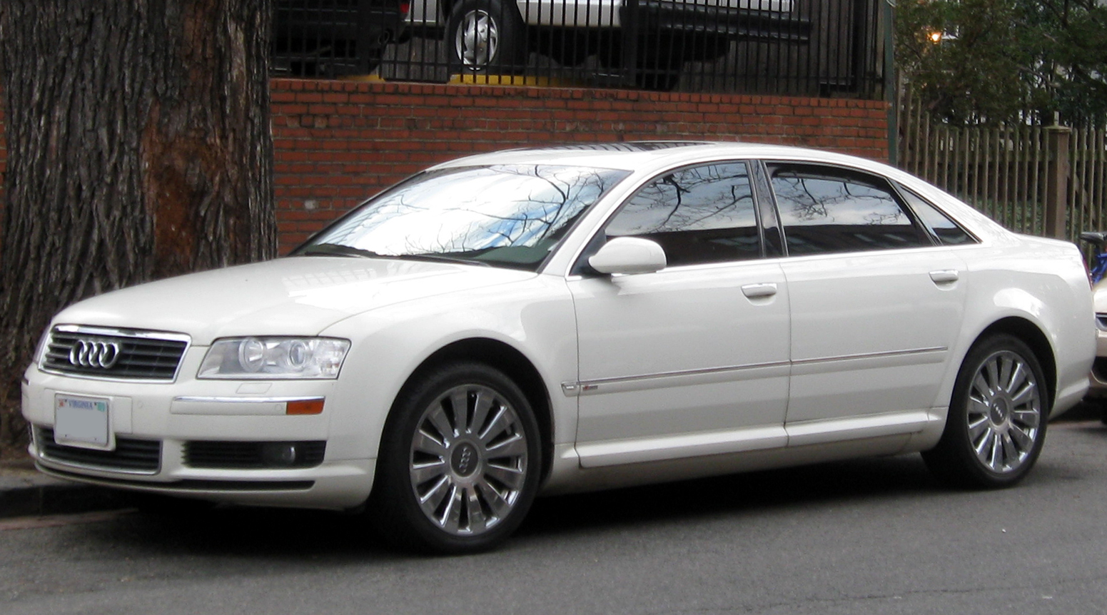 File 2004 2005 Audi A8 01 07 2012 Jpg Wikimedia Commons