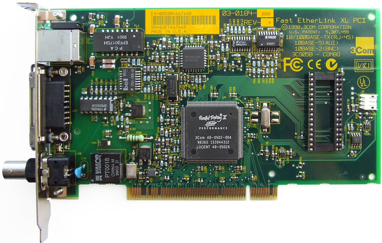 ETHERLINK XL PCI 64BIT DRIVER