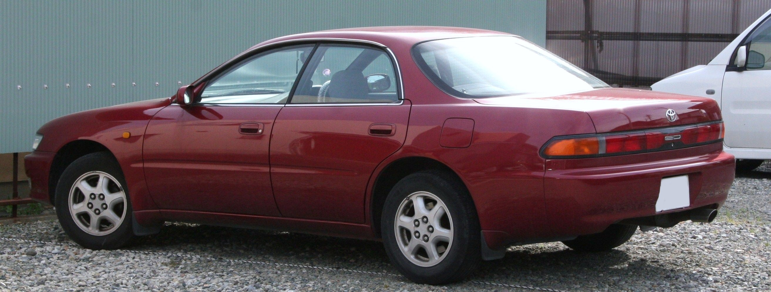 File 3rd Generation Toyota Carina Ed Rear Jpg Wikipedia