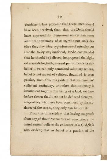 college essays on atheism
