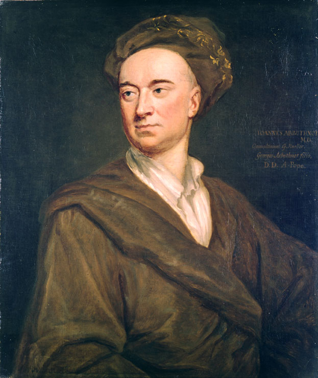 Portrait of John Arbuthnot by [[Godfrey Kneller]]
