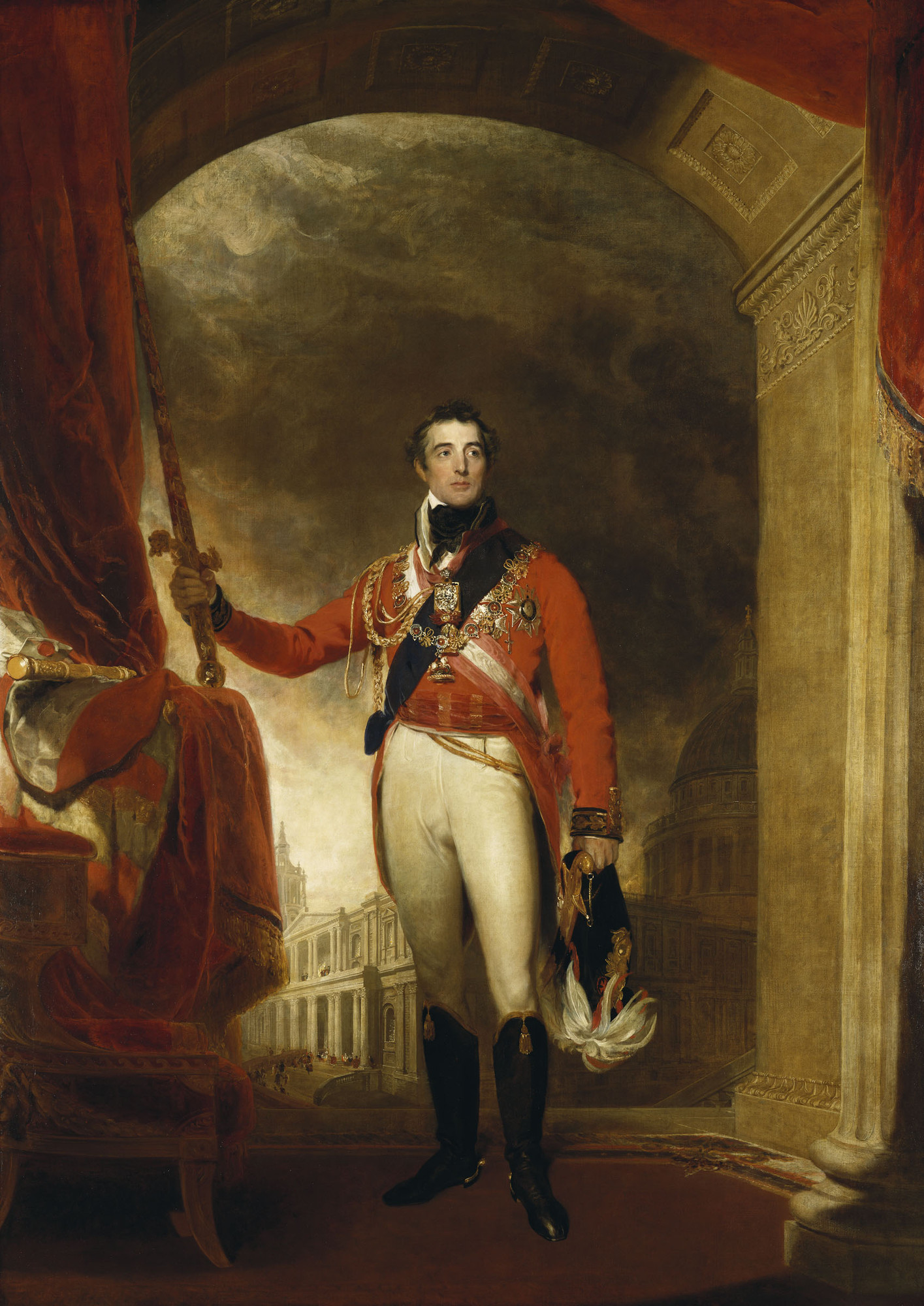 The Duke of Wellington by Lawrence, 1814-15