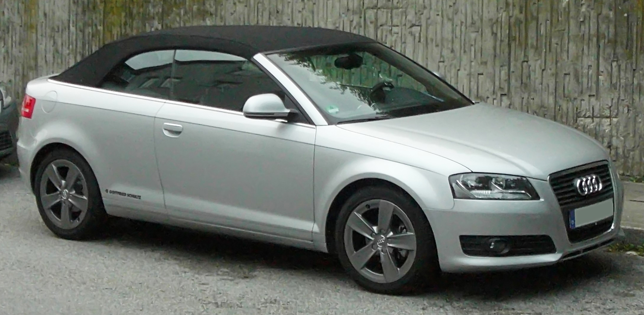 file audi a3 cabriolet 2008 front wikimedia commons. Black Bedroom Furniture Sets. Home Design Ideas