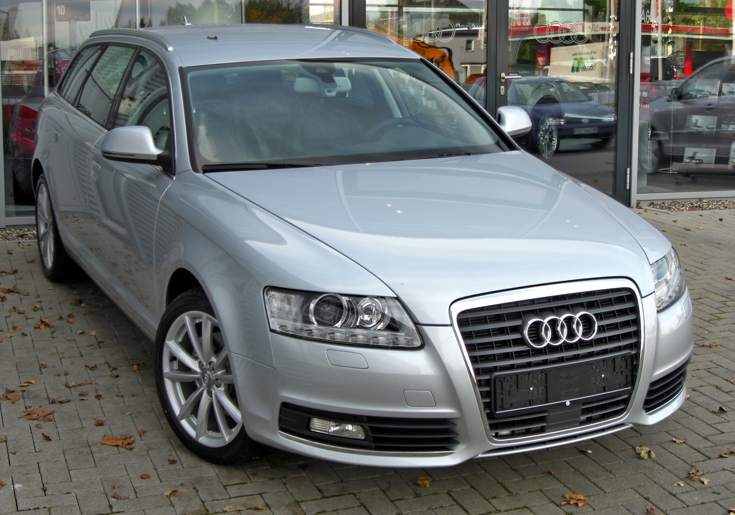 file audi a6 c6 avant facelift front 1 jpg wikimedia commons. Black Bedroom Furniture Sets. Home Design Ideas