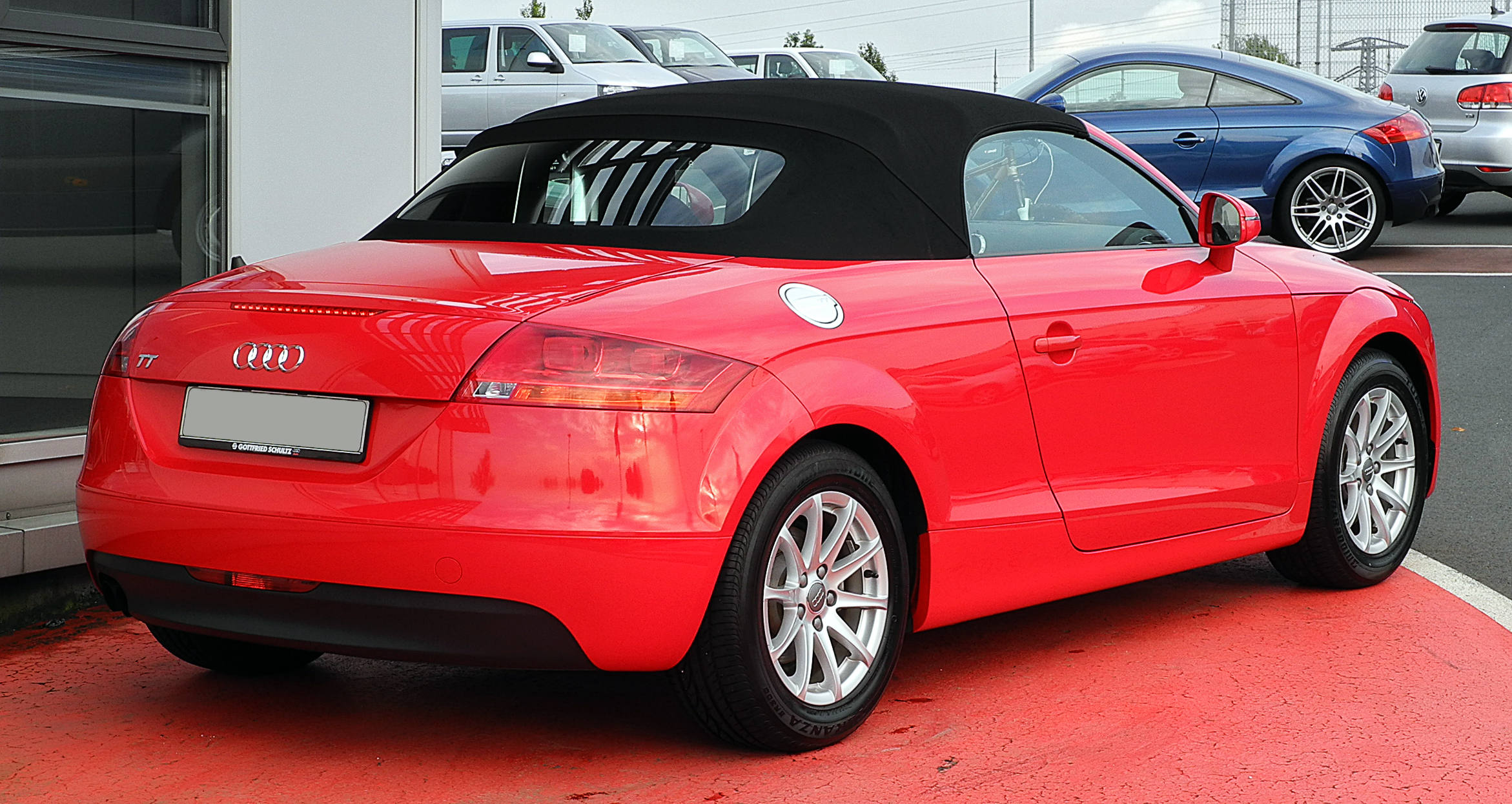 File Audi Tt Roadster 2 0 Tfsi 8j Heckansicht 21