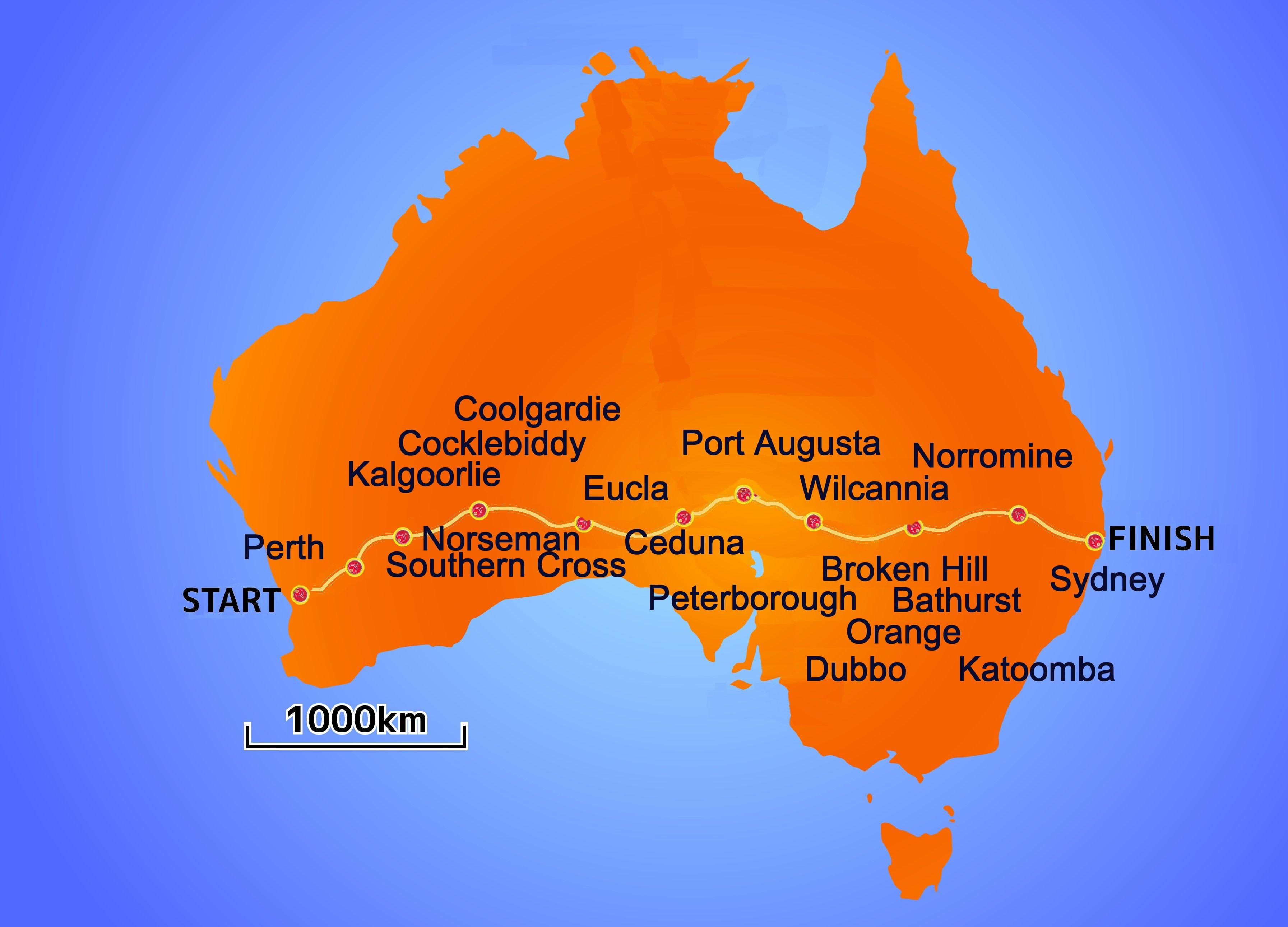 Perth Australia  city photos : Description Australia Perth route