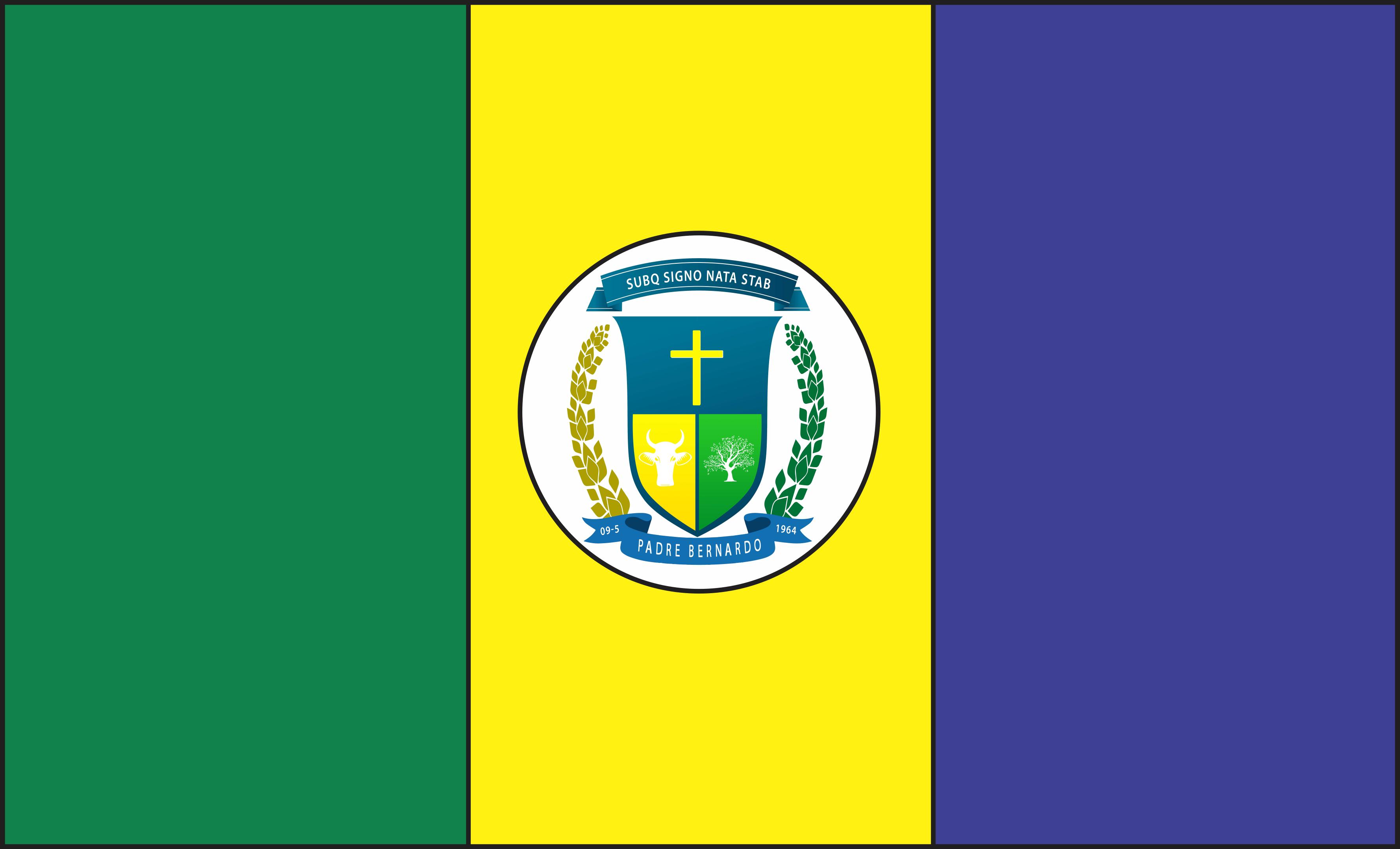 Bandeira de Padre Bernardo - GO