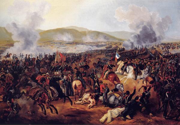 Photo : Bataille de Maipu, pendant la reconquête du Chili - Wikipédia