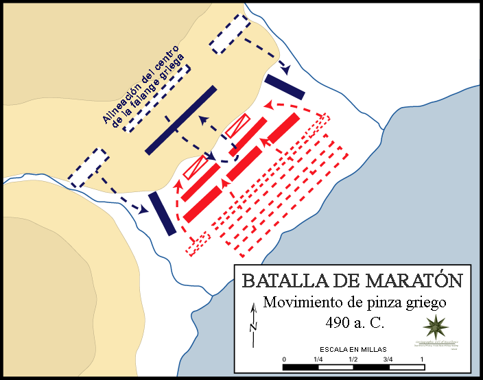 Battle of Marathon Greek Double Envelopment ES