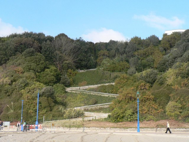 Bournemouth, East Cliff Zig-Zag - geograph.org.uk - 604505
