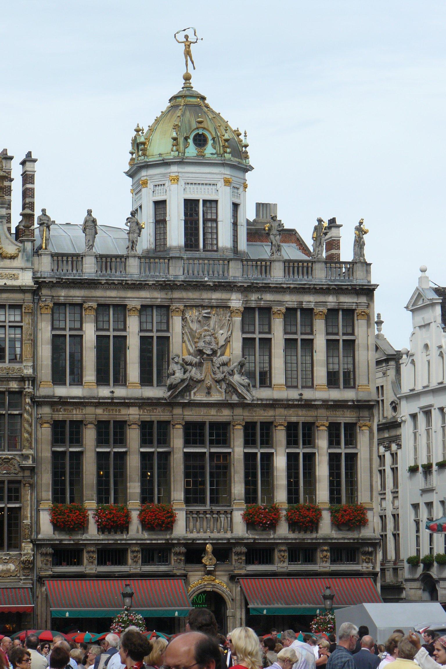 File Bruxelles Le Roi D 39 Espagne Ou La Maison Des