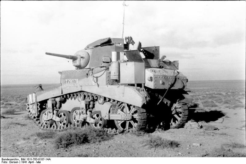 Disabled British Stuart I - Credits: Bundesarchiv