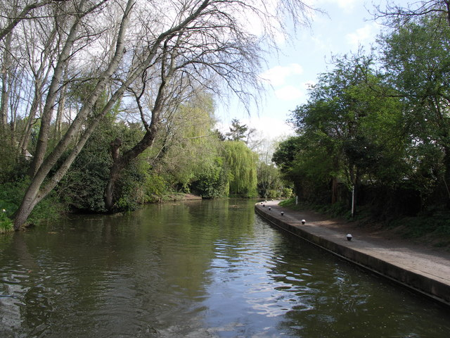 Canal Backwater. - geograph.org.uk - 404987