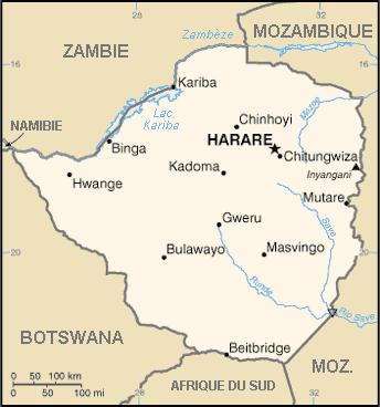 zimbabwe carte