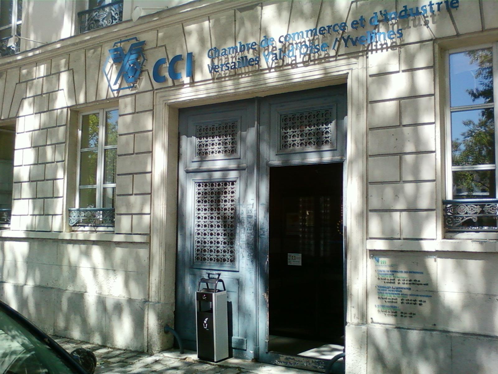 Chambre de commerce et d 39 industrie de versailles val d 39 oise yvelines wikip dia - Chambre de metiers versailles ...