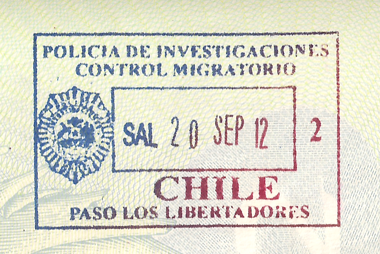 FileChile Exit Stamp