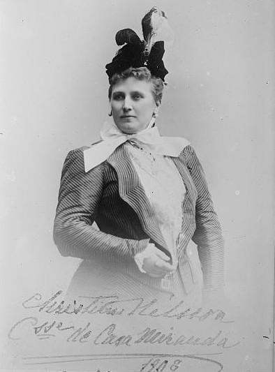 Christine Nilsson - Soprano  - Christina_Nilsson