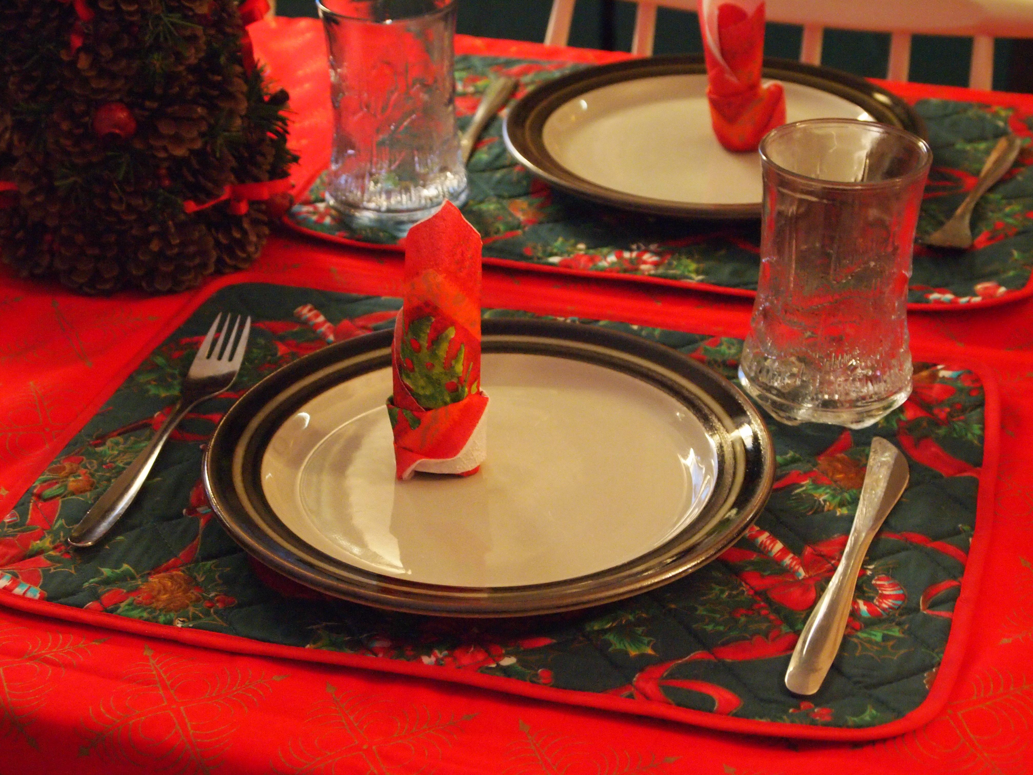 christmas feast table - photo #45