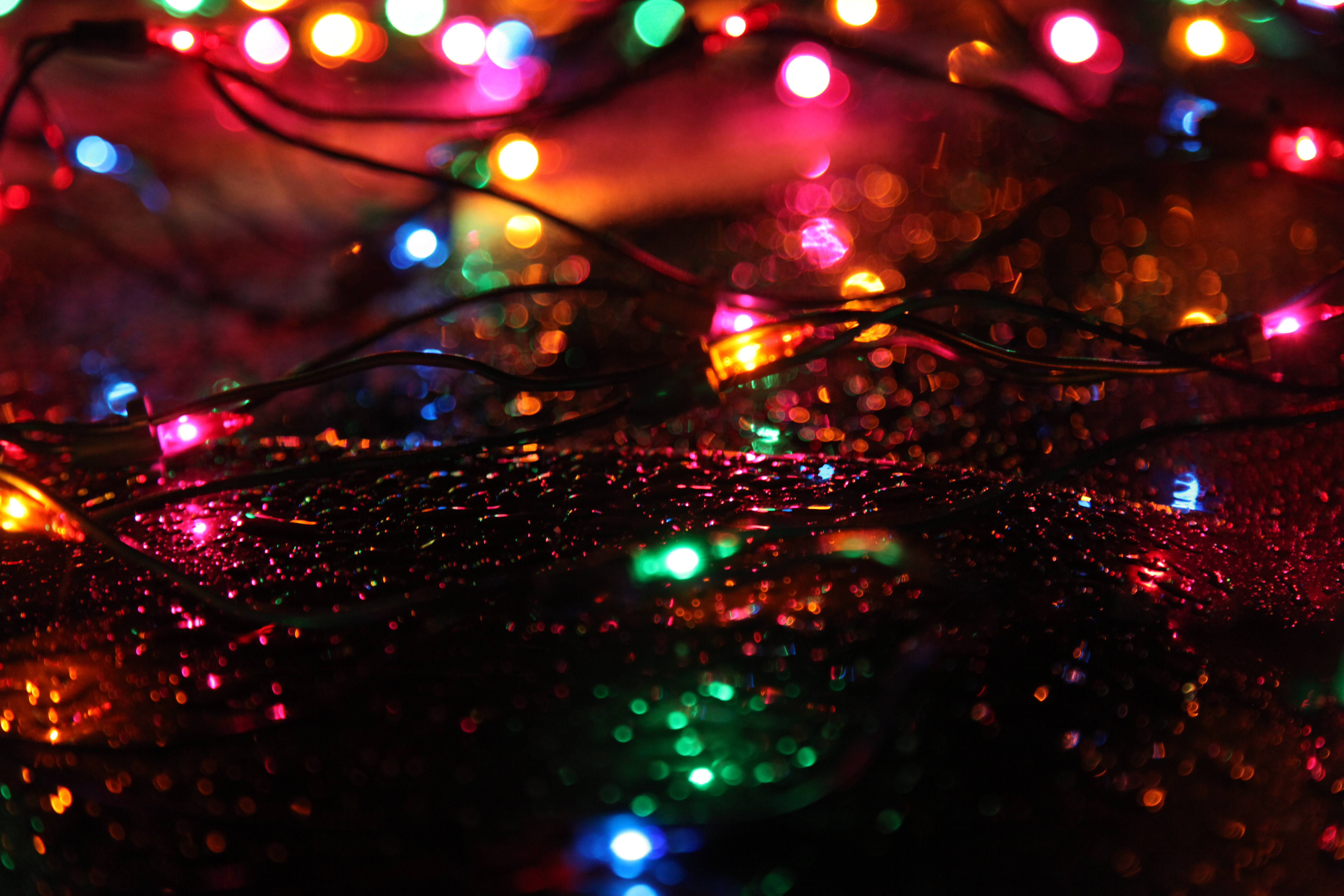 A String Of 20 Christmas Tree Lights