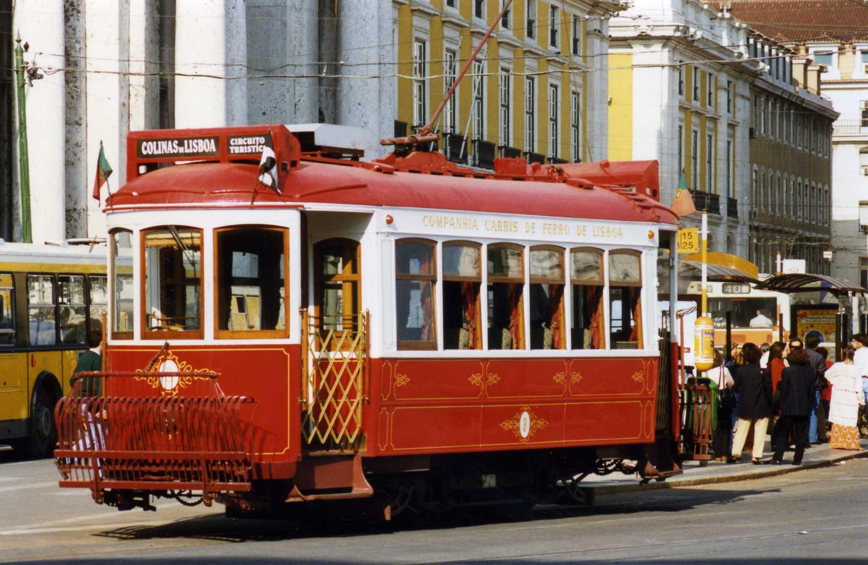 Circuito Turistico : File circuito turistico tram lisboa flickr sludgegulper