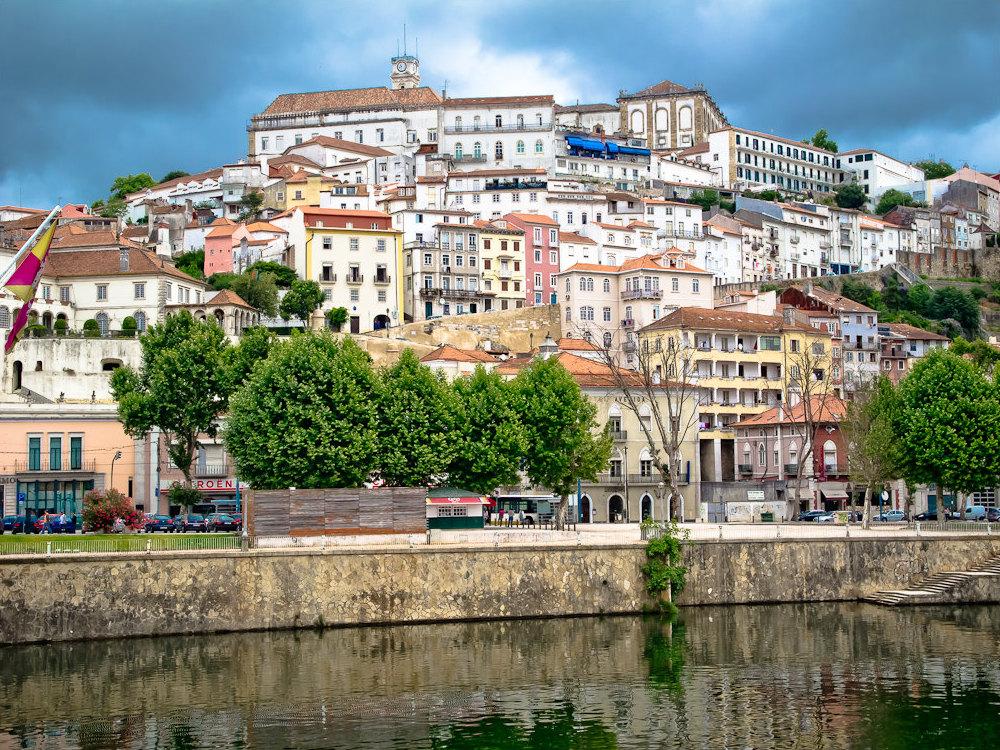 Percorso Lisbona - Coimbra - distanza, durata e costi ...
