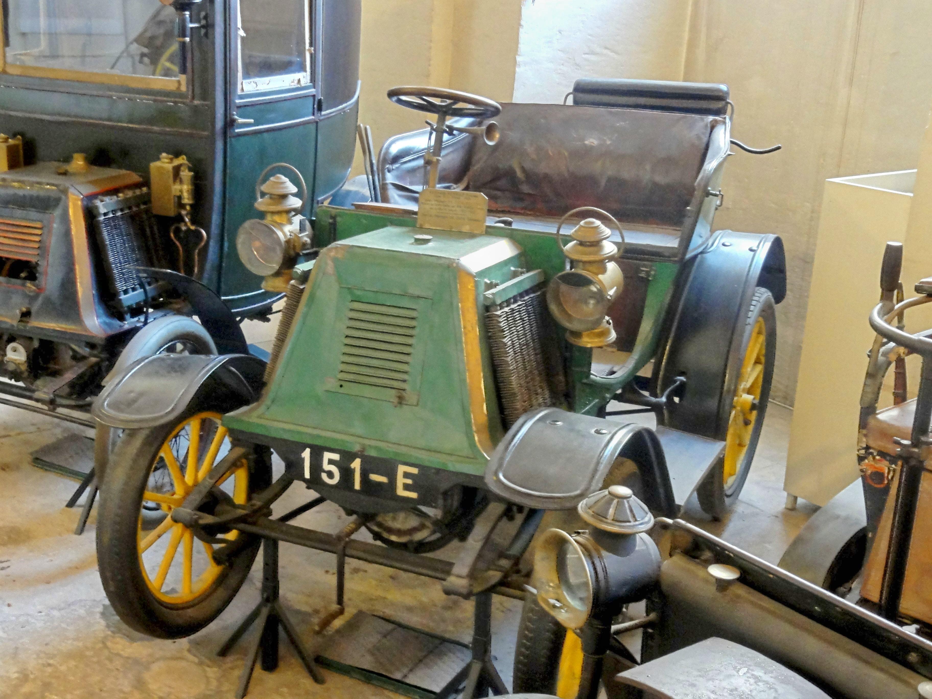 fichier compi gne 60 mus e de la voiture voiturette automobile renault fr res type d 1901. Black Bedroom Furniture Sets. Home Design Ideas