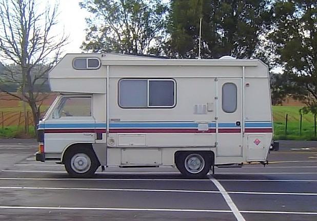 Image:Custom Camper Van New Zealand