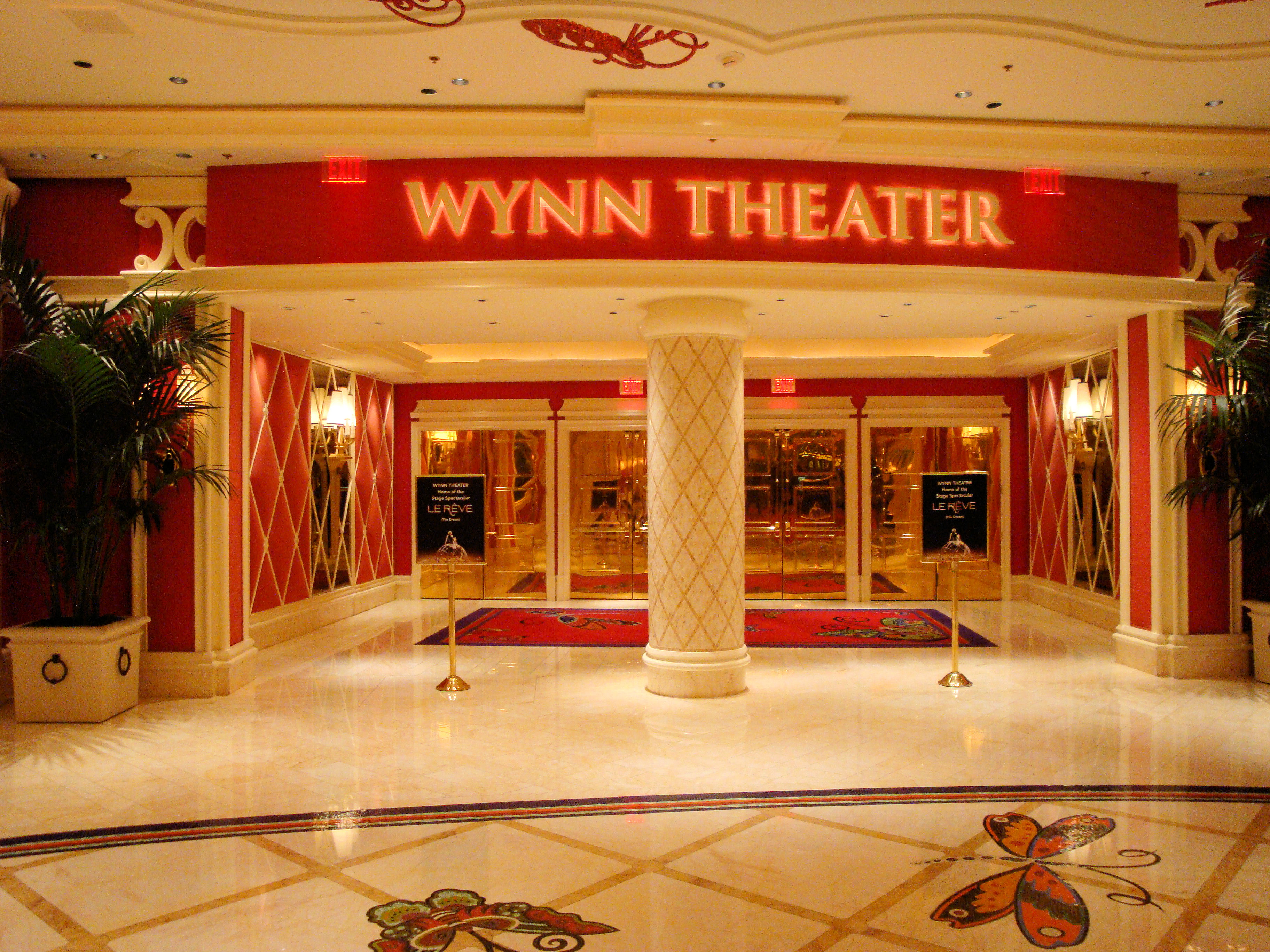 Leiber store in the wynn casino in las vegas the gila river casino