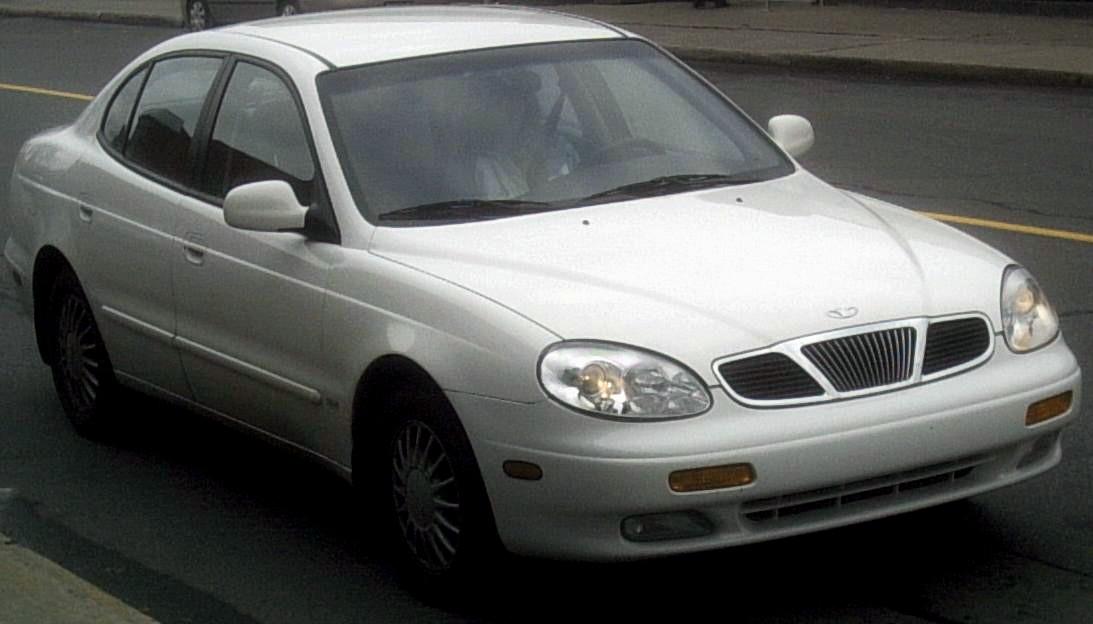 Daewoo Leganza 2002. daewoo sedan