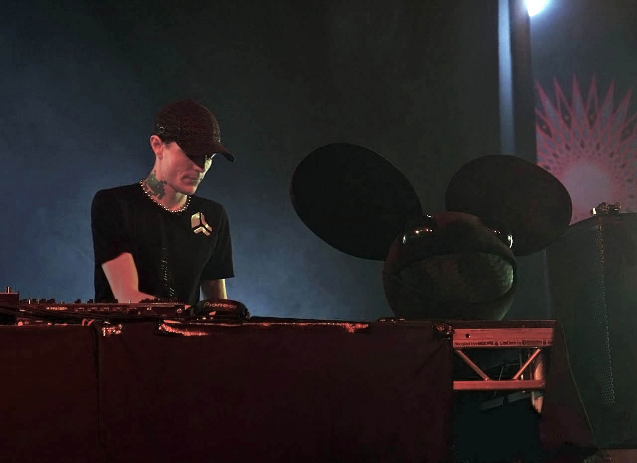Dj With Mouse Head