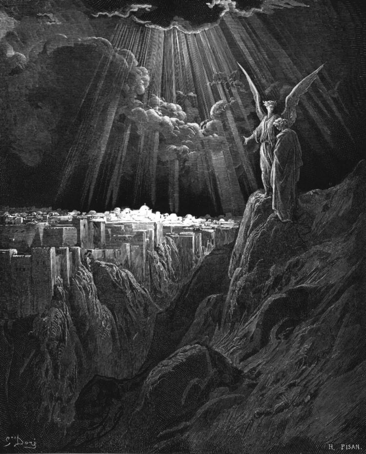 새 예루살렘 (귀스타브 도레, Gustave Doré, 1866년)