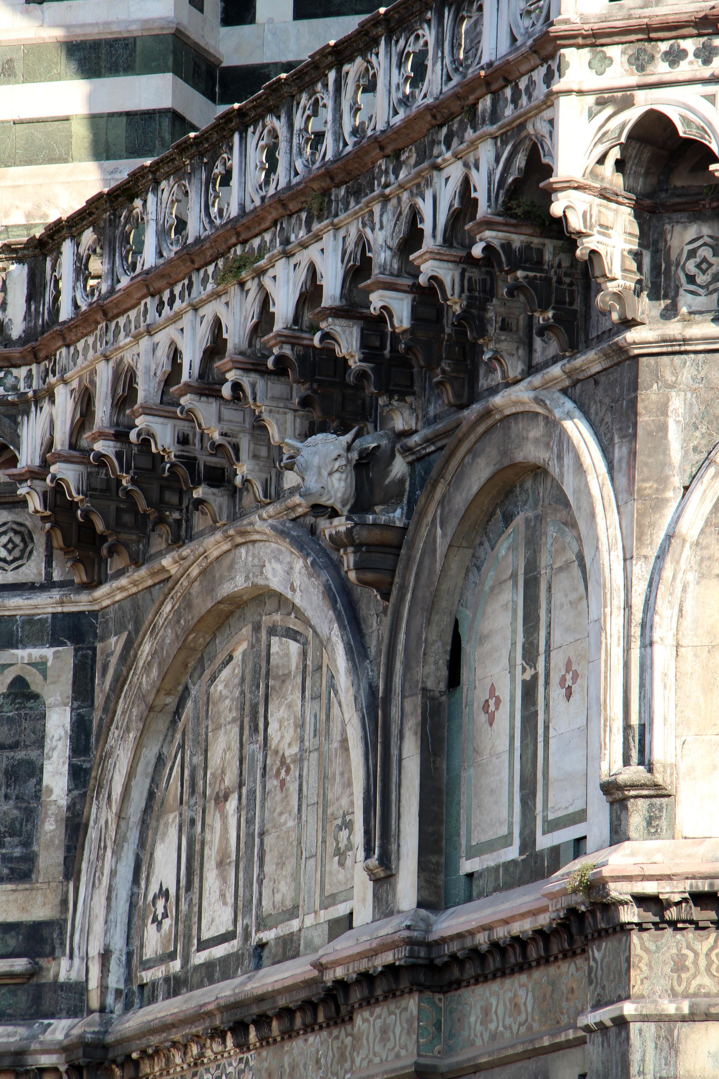 File Duomo Di Firenze Da Terrazza In P Duomo Doccione 04