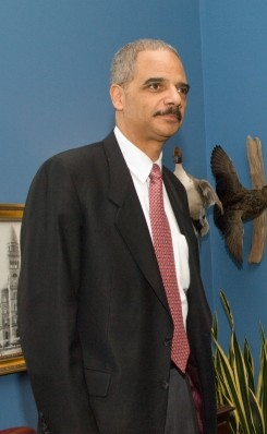 English: Eric Holder, Attorney General Nominee