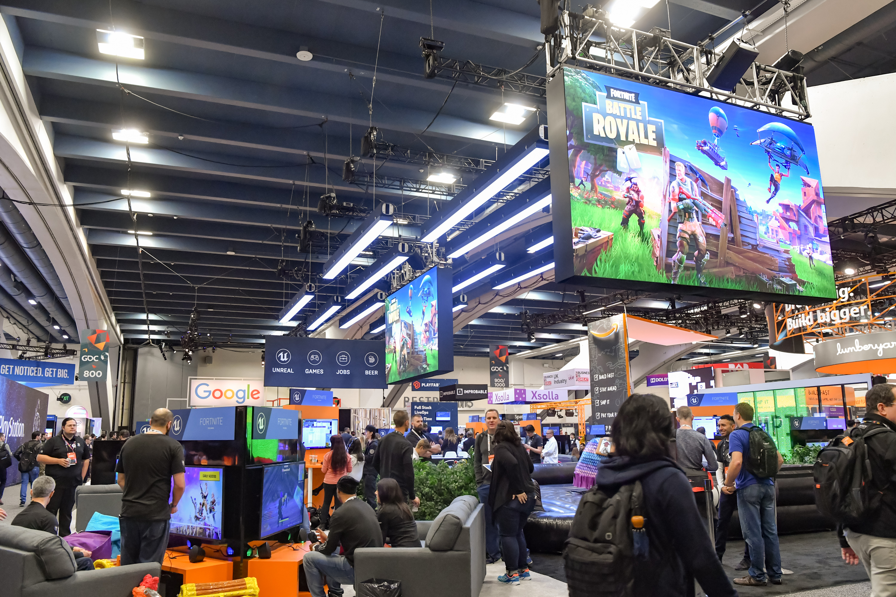 Ficheiro Fortnite Battle Royale At Gdc 2018 Jpg Wikipedia
