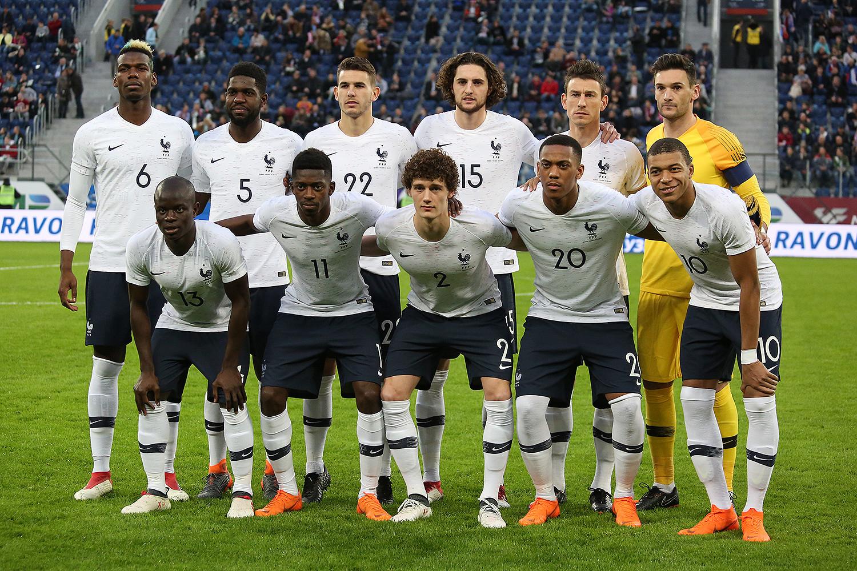 ผลการค้นหารูปภาพสำหรับ france national football team 2018
