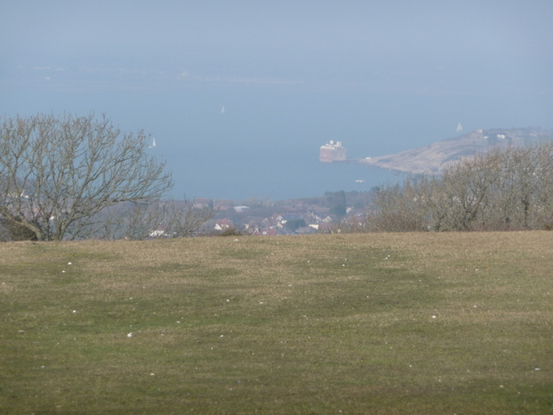 Freshwater, Solent view from Tennyson Down - geograph.org.uk - 1223449