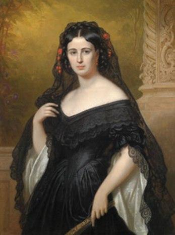 Hermanos y hermanas de la Emperatriz Elizabeth Friedrich_D%C3%BCrck,_Henriette_Mendel