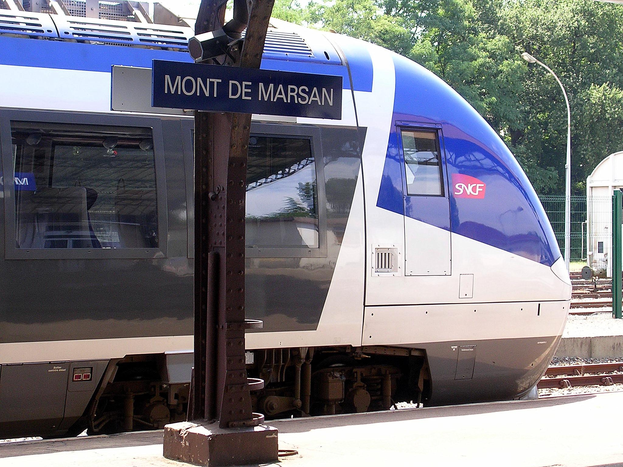 Station Mont-de-Marsan