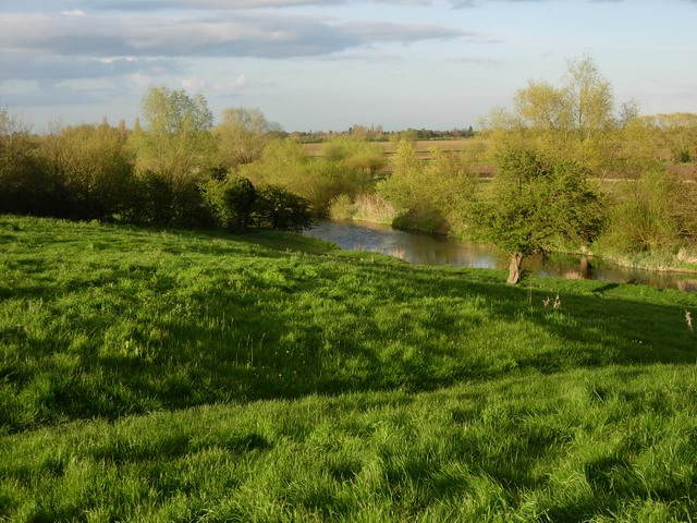 Grantchester Meadows and River Cam - geograph.org.uk - 778656