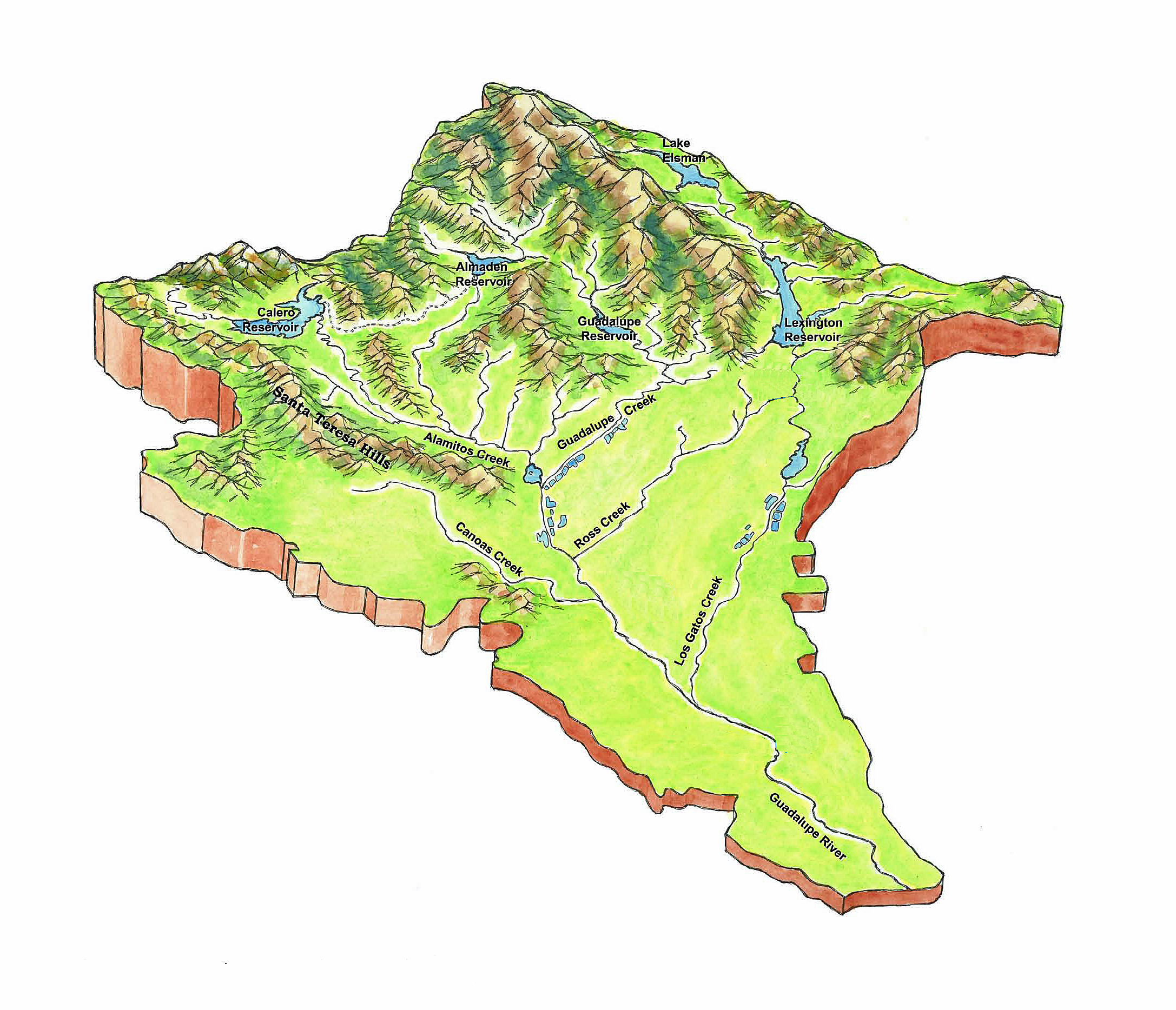 FileGuadalupe River Watershed Topo Mapjpg Wikimedia Commons - 3d topographical map of us