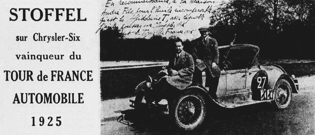 Quiz Expo Internationale Henri_Stoffel%2C_vainqueur_du_Tour_de_France_automobile_1925_sur_Chrysler-Six