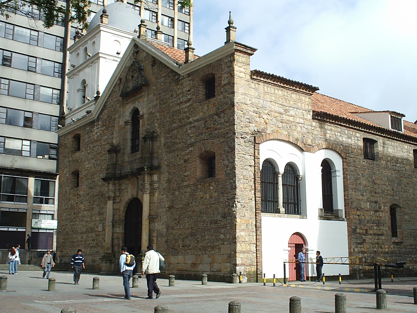 Iglesia de san agust n bogot wikiwand for Barrio ciudad jardin bogota