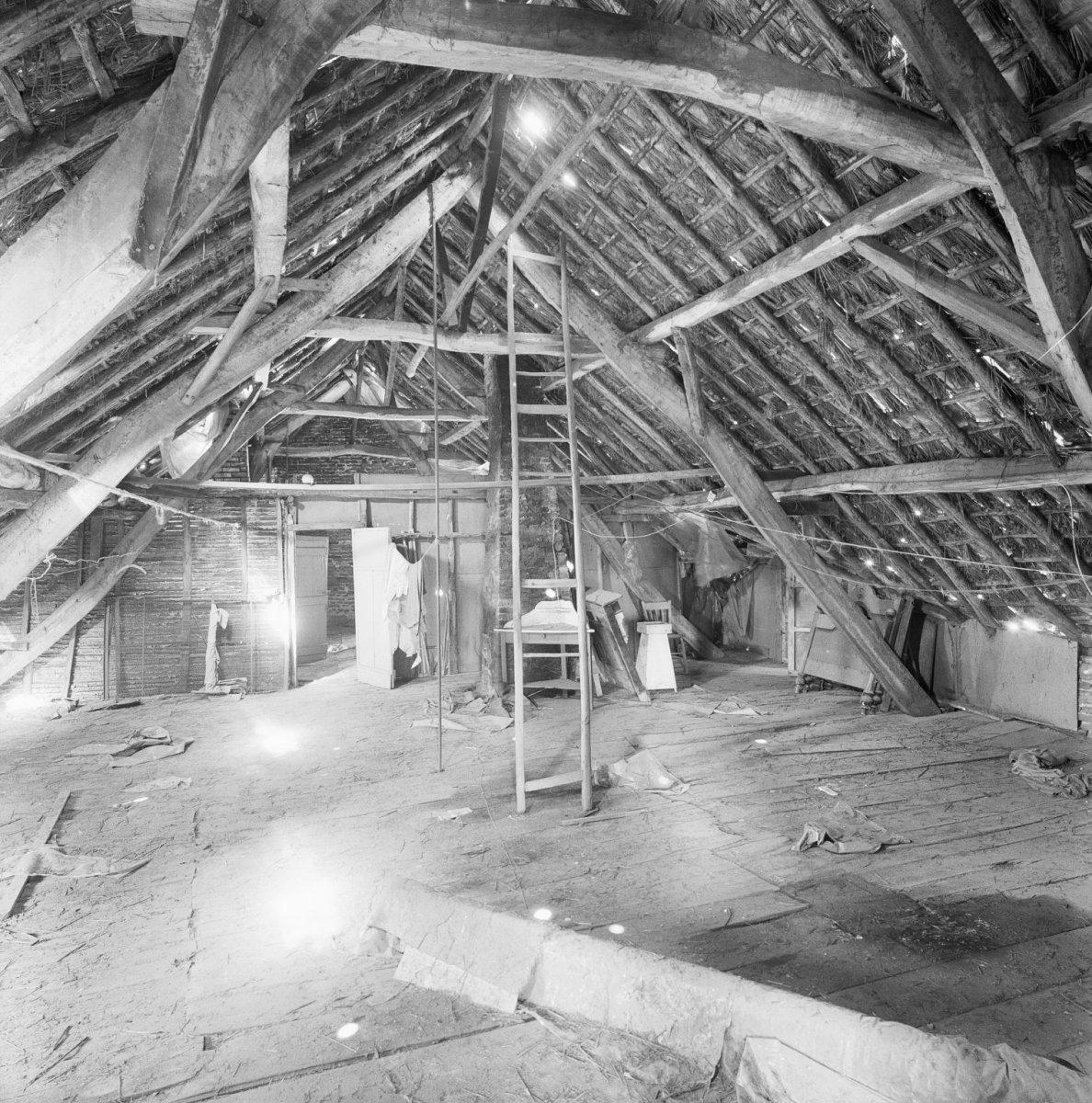 file interieur garage overzicht dakconstructie